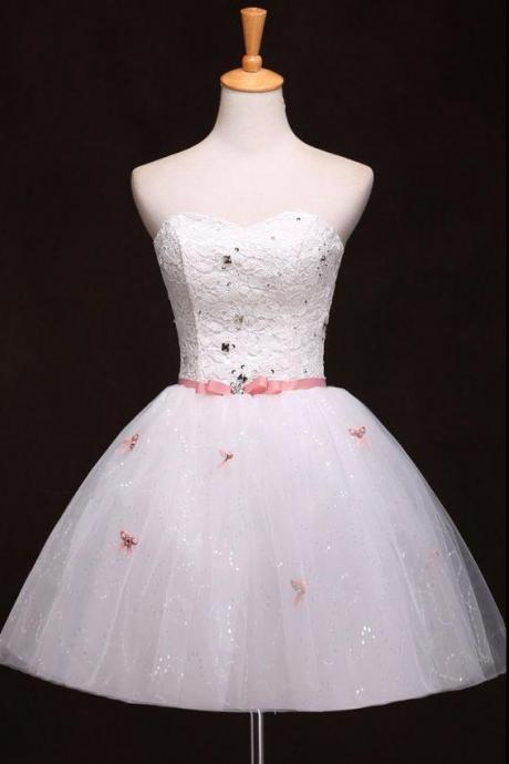 Short Homecoming Dress, Sweet Heart Homecoming Dress, Organza Homecoming Dress, Junior School Dress, Graduation Dress, Pretty Homecoming Dresses,91006