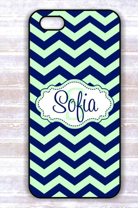 Iphone Chevron Case- Monogrammеd Iphone Hard Cover - Samsung Galaxy Case - Custom Iphone Case