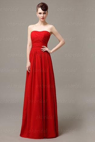 red bridesmaid dresses, girls bridesmaid dresses, simple bridesmaid dress, long bridesmaid dress, wedding bridesmaid dress, CM035