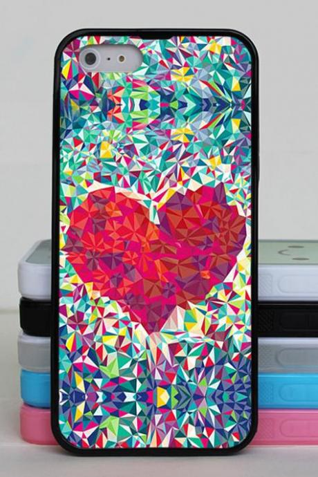 Heart iphone 6 case,iphone 6 plus case,iphone 5 case,iphohne 5s case,iphone 5c case,iphone 4 case,iphone 4s case for Samsung Galaxy S3 S4 S5 cover skin case