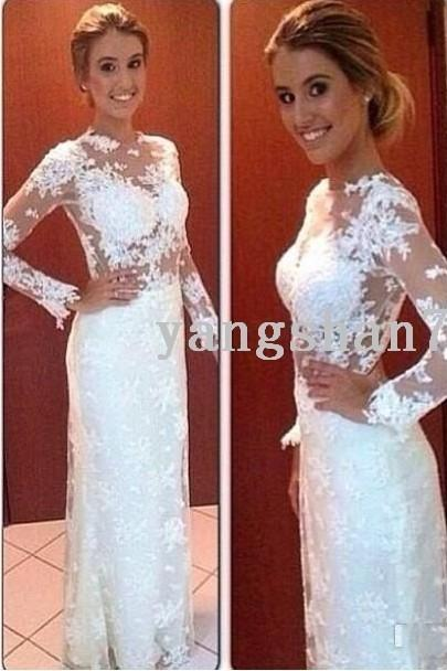 ON SALE CUTE FRESH LACE WEDDING DRESS