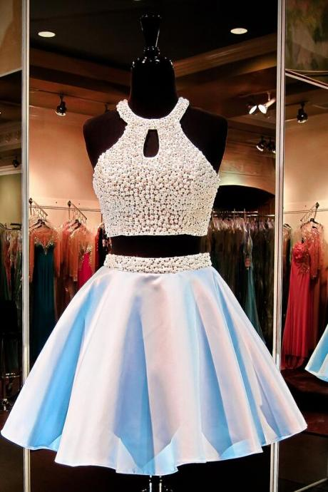 Charming Homecoming Dress ,Chiffon Homecoming Dress, Sweetheart Homecoming Dress, Beading Homecoming Dress