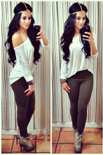 Fashion Womens Sexy Lace Long Sleeve Shirt Casual Blouse Loose Slim Tops T Shirt